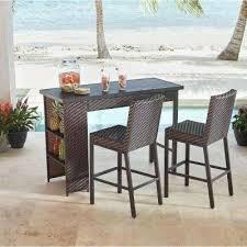 Patio Bar Furniture Set by Wicker Bar Height Patio Set U2013 Smashingplates Us