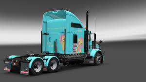 history of kenworth trucks image fanmade ets2 kenworth t800 fluttershy skin 10 png my