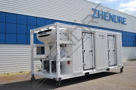 container chambre froide conteneur 20 bi compartiment zhendre