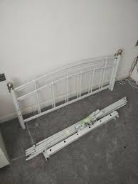 Double Metal Bed Frame Argos Double Metal Bed Frame With Metal Slats In Orpington