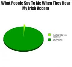 Accent Meme - what people say to me when they hear my irish accent