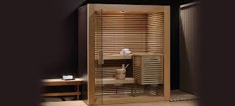 sauna in bagno wellness