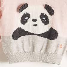 panda sweater pax pale pinks knitted panda sweater the bonnie mob mylittleceleb