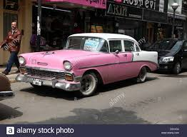 Old Classic Cars - old classic american cars on the street for hire in pendic a