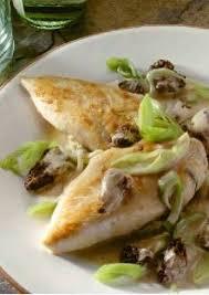 cuisiner le blanc de poulet blancs de poulet aux morilles et aux poireaux