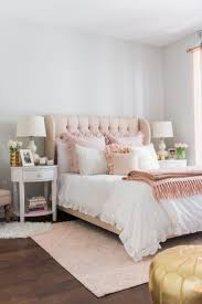 pink walls bedroom ideas room diy white master curtains for