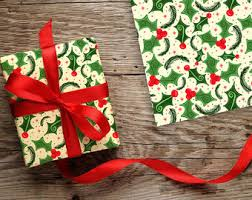 christmas gift wrapping paper christmas gift wrap etsy