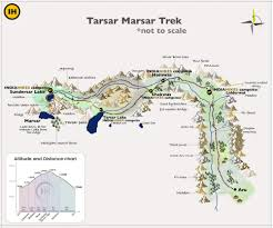 Stars Hollow Map Tarsar Marsar Trek Experience The Best Of Trekking In Kashmir