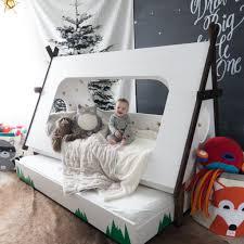 Privacy Pop Bed Tent Diy Tepee Kids U0027 Bed Popsugar Home