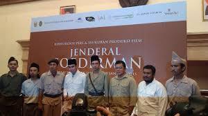 film perjuangan soedirman senjata dan bahan peledak untuk film jenderal soedirman difasilitasi