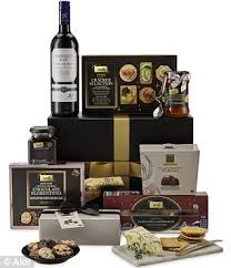 High End Gift Baskets Aldi Launches Luxury Christmas Hampers To Rival Fortnum U0026 Mason