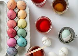 Easter Decorations In Australia by How To Dye Easter Eggs The Easy Way Allrecipes Dish