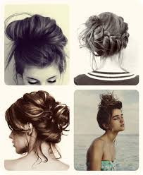 easy messy buns for shoulder length hair top 3 easy daily hairstyles ideas for medium hair vpfashion