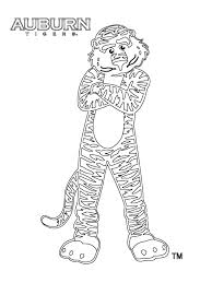 auburn football coloring pages eson me