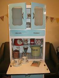 Retro Vintages S Kitchen Larder Cabinet Cupboard - Ebay kitchen cabinets