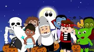 Cartoon Halloween Monsters Halloween Song For Kids My Favorite Halloween Monsters Youtube