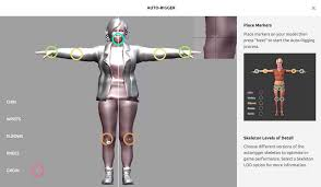 Online Human Body Mixamo