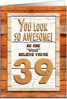 39th birthday cards from greeting card universe