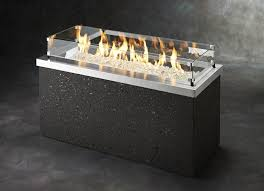 Fire Pit Glass Stones by Key Largo Fire Pit Table Stainless Steel Top