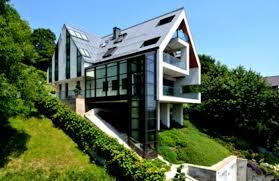 baby nursery steep hill house plans slope house plans modern