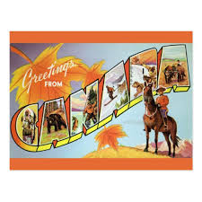 greetings from canada postcard zazzle