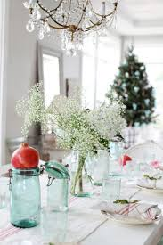 dreamy whites a simple christmas table setting