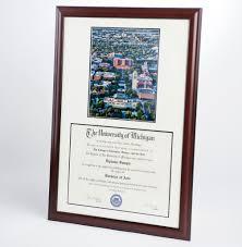 of michigan diploma frame diploma frames michigan photography