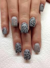 fingern gel design vorlagen nageldesign muster wie sie fingerngel designs selber machen mit