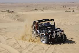 jeep safari jeep safari in dunes of rajasthan