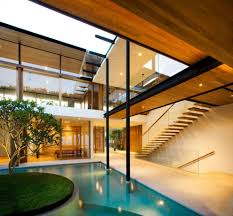 tropical modern architecture fancy environmentally friendly modern