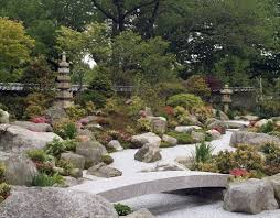Japan Rock Garden by Tenshin En Japanese Garden