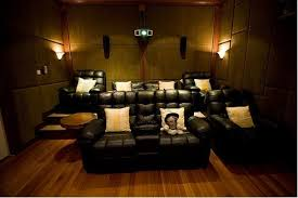chairs beautiful home theater interior designs with sofa curtain