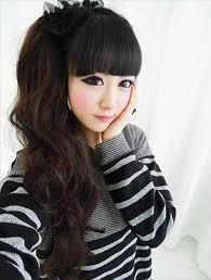 nice koran hairstyles korean hairstyles for girls having curly hairs trendyoutlook com