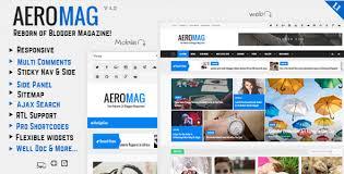 templates v1 blogger aeromag news magazine responsive blogger template by themelet