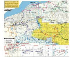 Upper Michigan Map by Snowmobiling