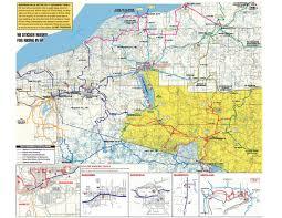 Upper Peninsula Map Snowmobiling