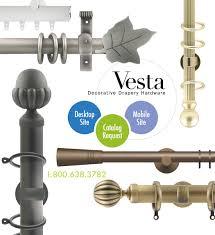 Trax Drapery Hardware Vesta Drapery Hardware