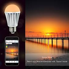 magiclight wifi led light bulb u2013 control your lights from anywhere