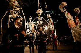 halloween usa festivals 2 worlds famous parties travel all together