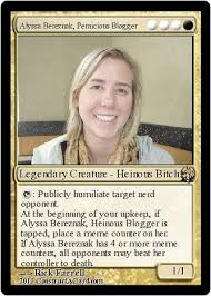 Magic Card Meme - my brief okcupid affair with a world chion magic the gathering