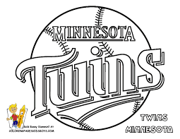 twins logo color book 08 minnesota twins baseball coloring at