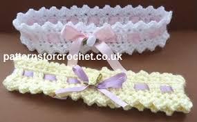 baby crochet headbands free baby crochet pattern baby headband usa