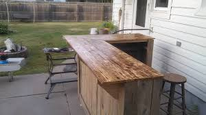 Wooden Table L Best 25 Wooden Bar Table Ideas On Pinterest Outdoor Pertaining To