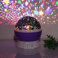 bedroom star projector star sky night l baby lights 360 degree romantic room rotating