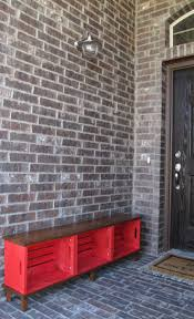 Red Entryway Bench by Best 25 Crate Bench Ideas On Pinterest Shoe Storage Shoe Bench