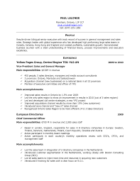 Canadian Resume Sample by Canadian Resume Sample Best Template Collection