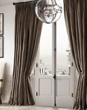 French Pleated Drapes Restoration Hardware Curtains Drapes And Valances Ebay