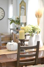 Dining Room Table Arrangements Fall Dining Room Table Decorating Ideas 30 Amazing And Cozy Fall