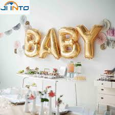 baby shower party supplies 4pcs 16inch foil ballon helium balloon kids birthday event