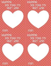 free valentines cards you make my heart sing card printable smashed peas